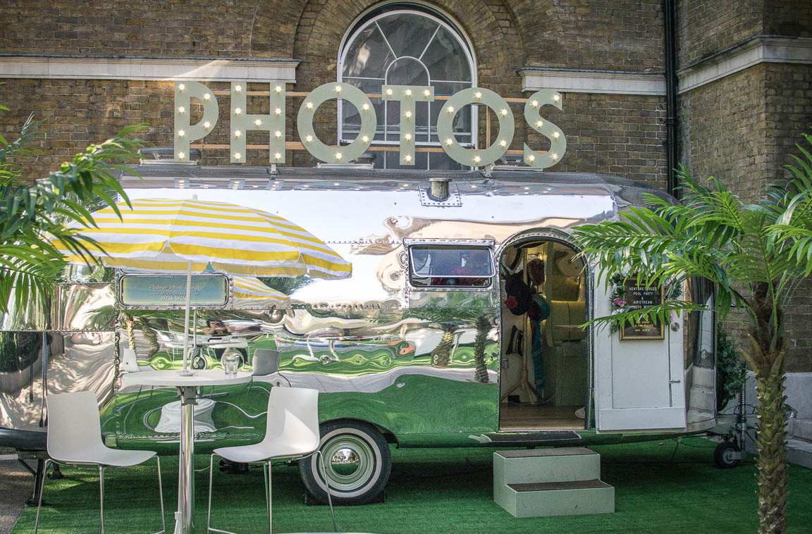 Airstream Studio - Vintage Airstream Photo Booth Hire in Sussexa